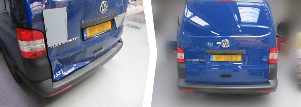 VW Transporter schadeherstel